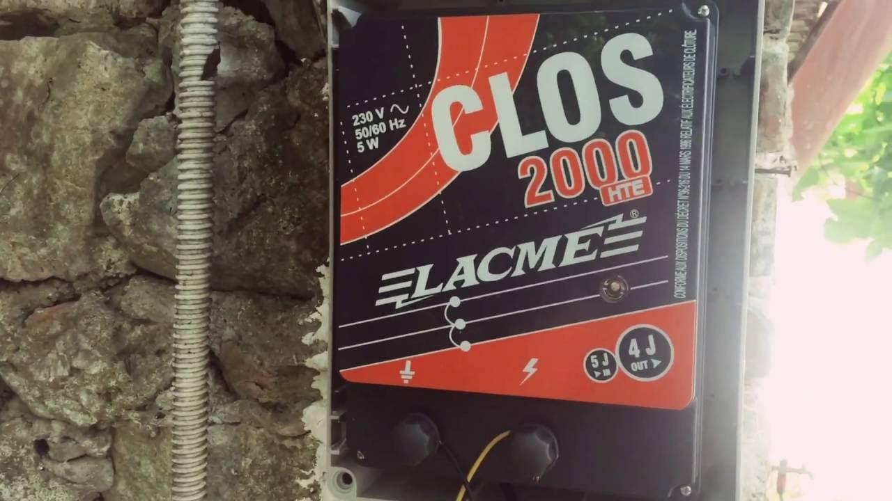 Il mio nuovo recinto elettrico lacme clos 2000 per for Lacme clos 2000