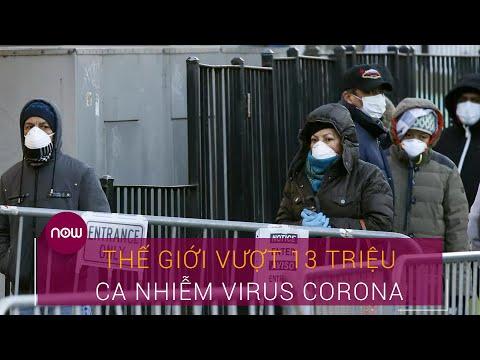 Covid-19 thế giới sáng 14/7: Thế giới vượt 13 triệu ca nhiễm virus Corona   VTC Now