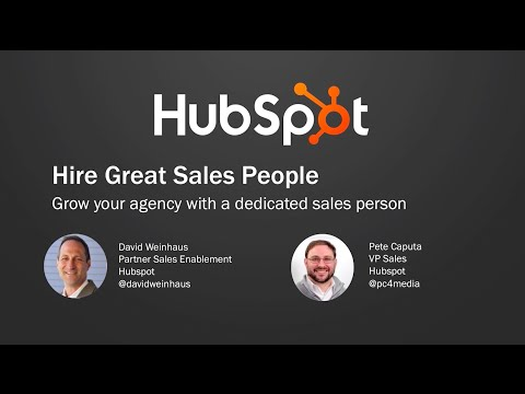 Hire Great Sales People - David Weinhaus and Pete Caputa, Partner Day 2015