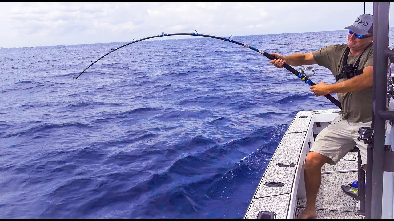 Getting WORKED by GIANTS *Deep Sea Fishing* {Catch Clean Cook} - YouTube