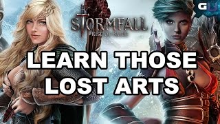 Stormfall: Rise of Balur - Learn Those Lost Arts (With Commentary)