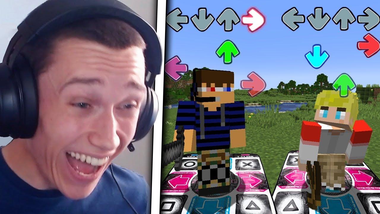 We Played Minecraft Using Dance Mats...