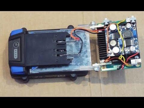 24V Li-ion Kobalt Tool Battery DIY Adapter