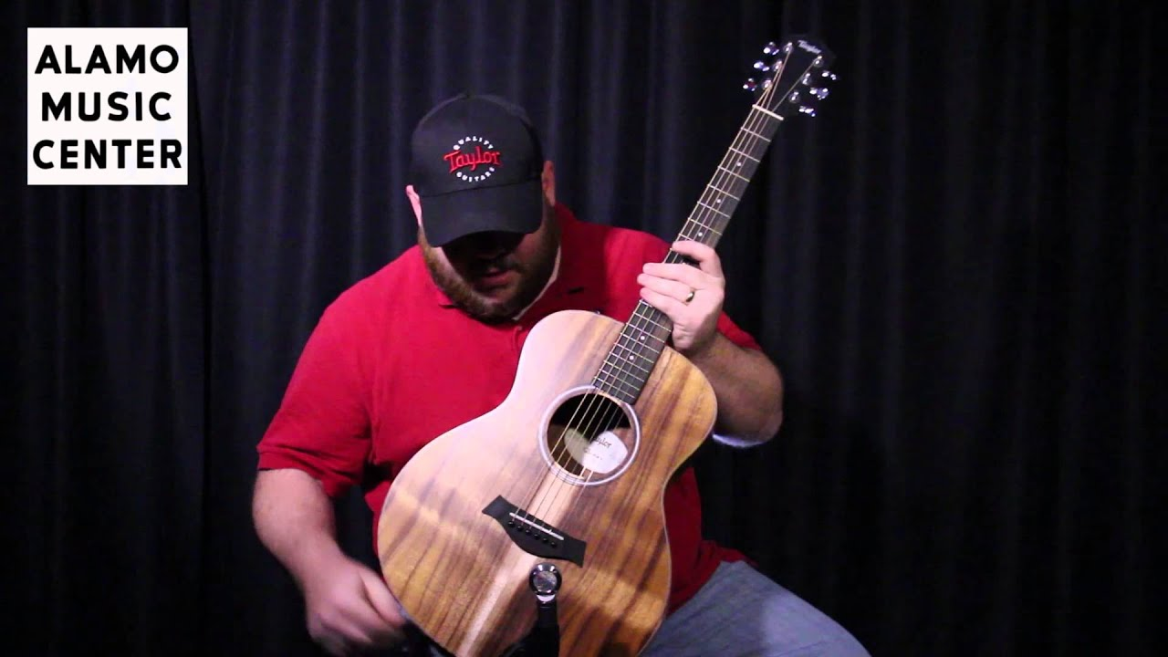 GS Mini vs Big Baby Taylor Guitar Comparison - YouTube