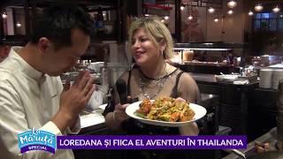 Loredana si fiica ei, aventuri in Thailanda