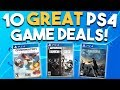 10 GREAT PS4 Game Deals Available RIGHT NOW (Best Playstation 4 Games Deals)