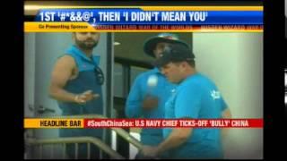 World Cup 2015: Virat Kohli hurls abuse at journalist before apologising