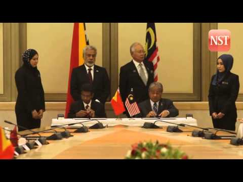 PM: Malaysia-Timor Leste to boost bilateral trade