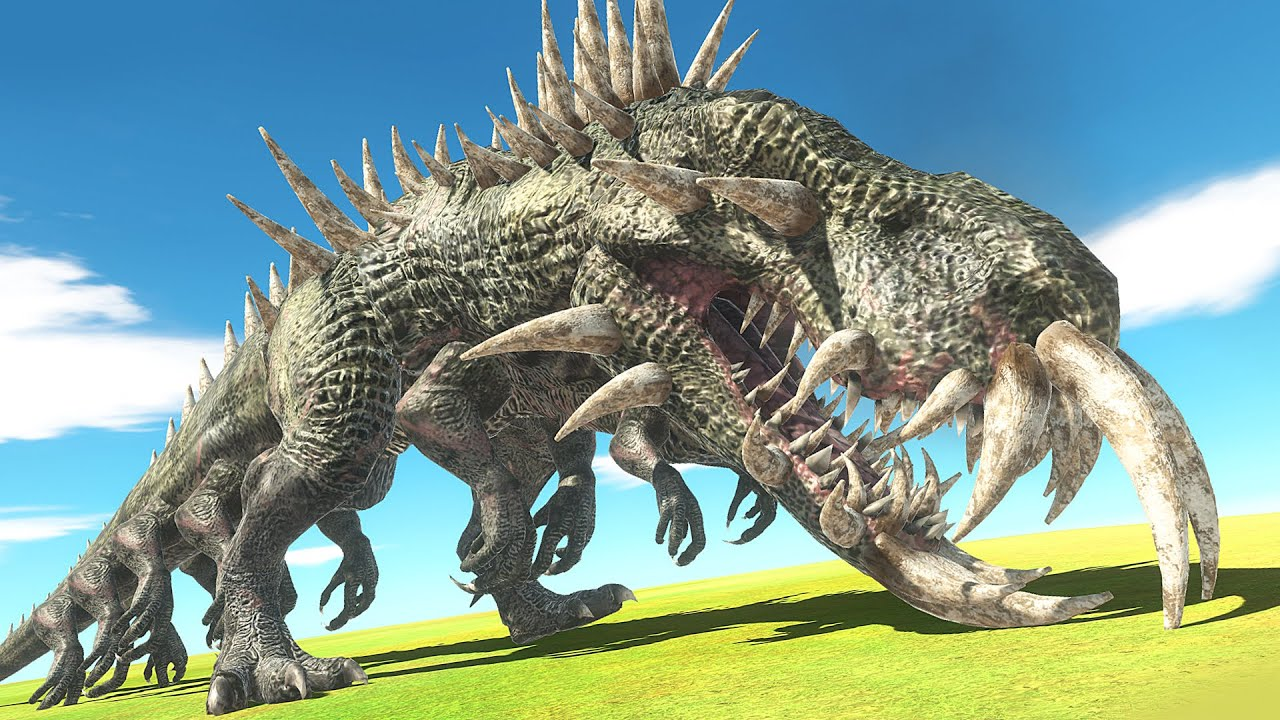 MASSIVE WORLD EATER vs GIANT LEVIATHAN - Animal Revolt Battle Simulator ARBS