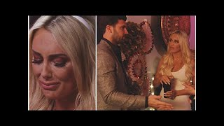 TOWIE's Dan Edgar gets drink thrown in his face as his love rivals Amber Turner and Clelia Theodo...