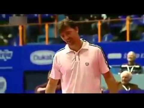 unbelievable tennis shot
