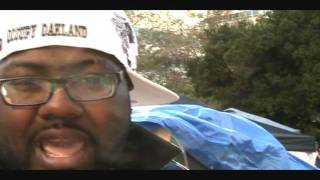 Mistah F.A.B. freestyles at Occupy Oakland Video Shoot RARE