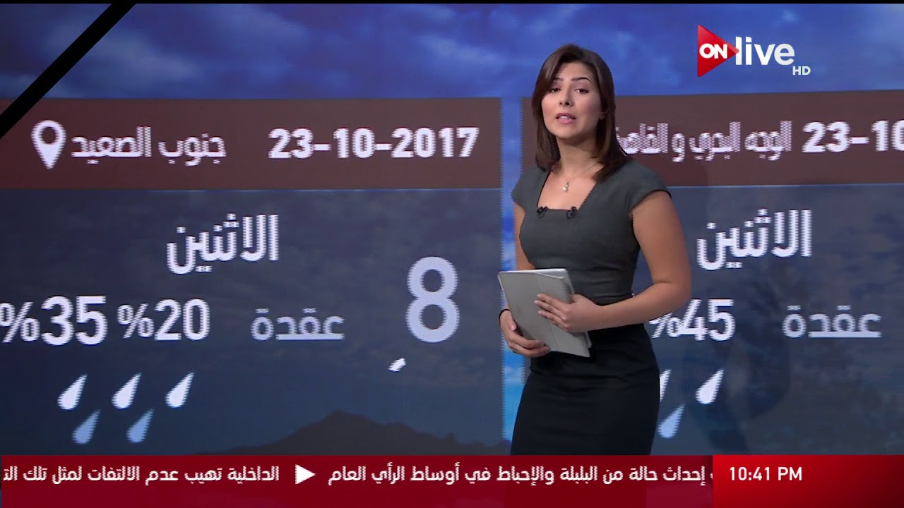النشرة الجوية حالة الطقس غدا فى مصر والدول العربية الاثنين 23