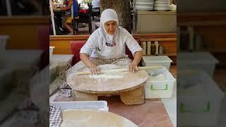 Как делают вкусный хлеб в Турции