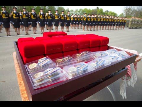 Участников парада, посвященного Великой Победе, наградили в МВД