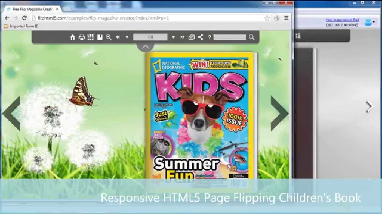 100 free responsive html5 flipbook creator for media rich page flip 100 free responsive html5 flipbook creator for media rich page flip childrens ebooks fandeluxe Images