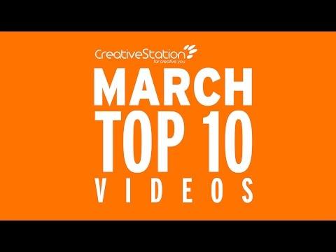 CreativeStation March 2017 Top 10 Video Arts