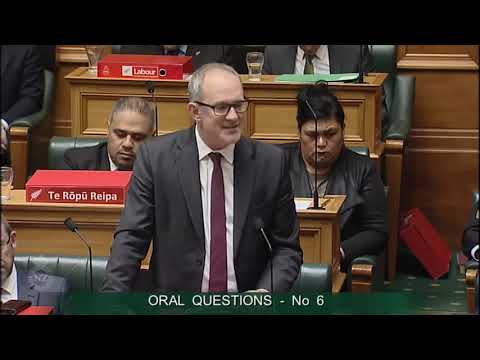 Question 6 - Hon Paul Goldsmith to the Minister of Transport