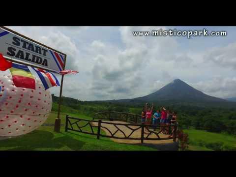 Arenal Zorbing - Mistico Park, Costa Rica.