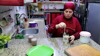 روتيني النهارده روتين الست المحتاره تطبخ ايه النهارده وكسلانه وهنعمل  فطارالروقان|روتين مصري