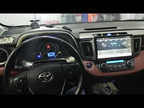 Видеообзор  на магнитолу Android 9 на  Toyota Raf 4