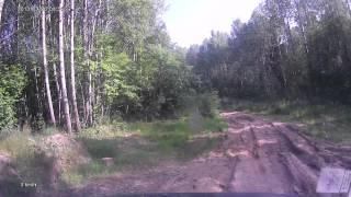 Дорога на О. Струнниское Новгородская область УАЗ ПАТРИОТ