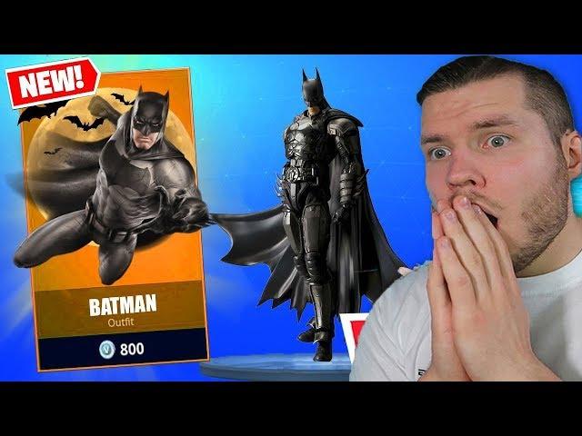 BATMAN IN FORTNITE NEUES UPDATE!!