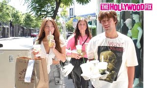 Cameron Dallas & Madisyn Menchaca Are Asked About The Keemstar & H3H3 Drama At Urth Caffe
