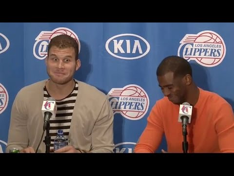 Chris Paul Says D*ck, Blake Griffin Cracks Up