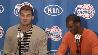 Chris Paul Says D*ck, Blake Griffin Cracks Up