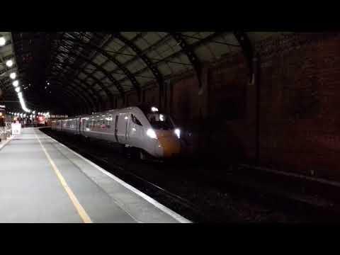 """""""NEW"""" GWR IEP - 800 030  5X80 Merchant Park - Doncaster IEP 08/12/17"""