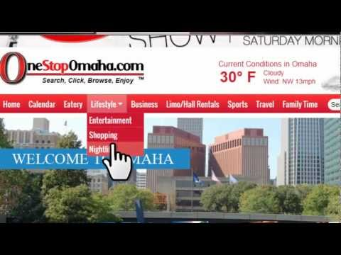 OneStopOmaha.com 2.0 Version tutorial video