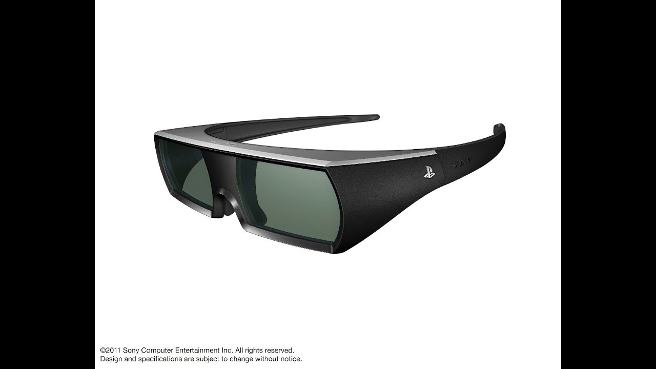 playstation 3d glasses unboxing youtube rh youtube com