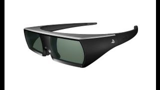PlayStation 3D Glasses Unboxing