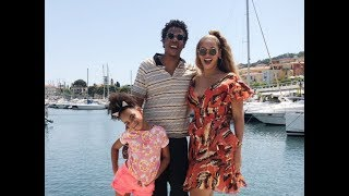 Beyoncé Shares Family Photos With Jay-Z And Blue Ivy — But No Twins