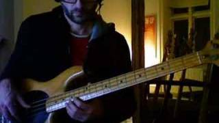 A minor/blues scale ideas for bass