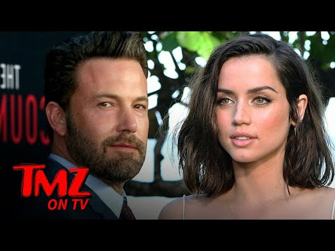 Ben Affleck & Ana De Armas Get SUPER Close On The Beach | TMZ TV