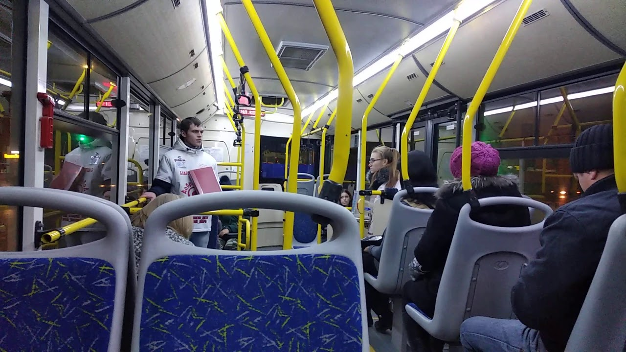 о чем спорят в автобусе