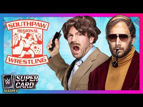 MR. MACKELROY and CHETT CHETTERFIELD bring SOUTHPAW REGIONAL WRESTLING to WWE SuperCard!
