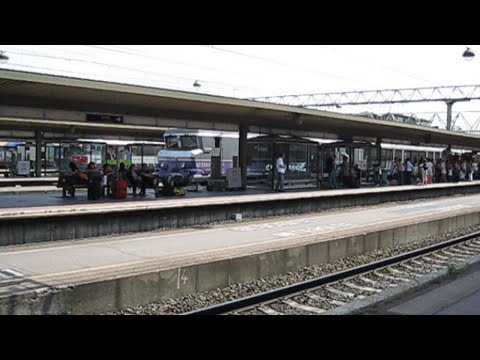France: SNCF Jingle and station announcement at Lyon-Part-Dieu station