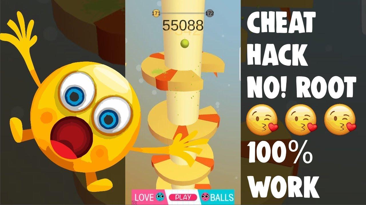 Helix Jump score Hack 100% Hack App Data by Game Hacker