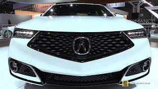 2018 Acura TLX A-Spec - Exterior and Interior Walkaround - Debut at 2017 New York Auto Show