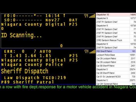 11/27/17 16:45 Saunders Settlement Rd. & Pasco Pk. truck vs.tree Mva with Mercy Flight needed Audio