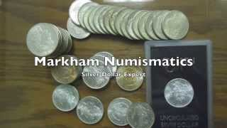 Sell Silver Dollar Collection | Sell Morgan dollars Riverside ca | Markham Numismatics