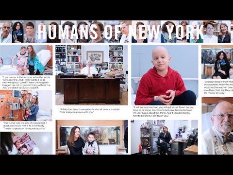 Humans of New York: Stories from Memorial Sloan Kettering's Department of Pediatrics