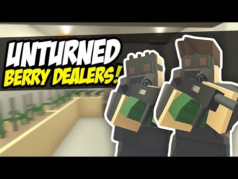 BERRY DEALERS - Unturned Base Defense | Military Raid Us! (Roleplay)