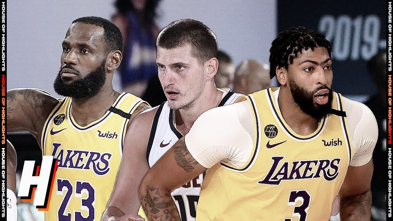 Denver Nuggets vs Los Angeles Lakers - Full Game Highlights | August 10, 2020 | 2019-20 NBA Season
