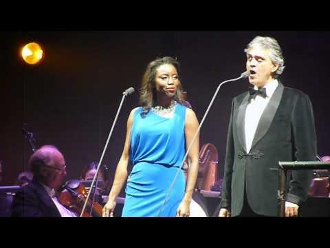 Andrea Bocelli and Heather Headley LIVE in concert Vivo Per Lei