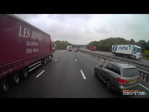 3rd lane overtake national express