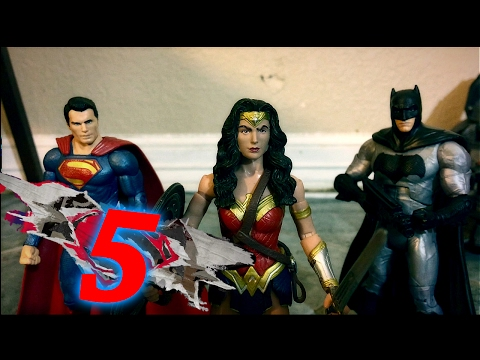 Batman V Superman: Dawn Of Justice Stop Motion Film Part 5